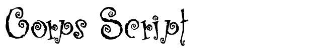 CoprsScript
