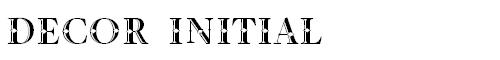 Decor_initial