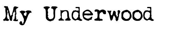 MyUnderwood