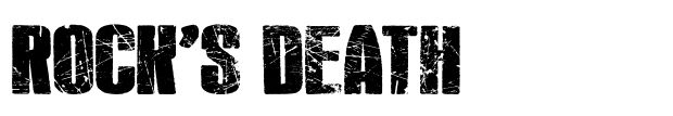 Rock 's Death