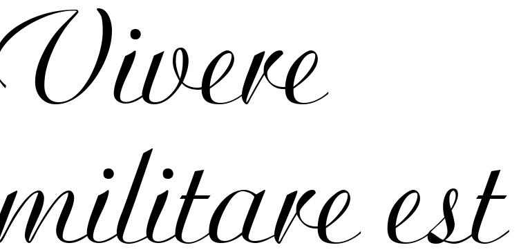 Tattoo vivere militare est Надписи на