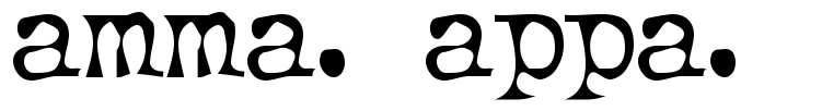 Amma Appa Tattoo Font Download Free Scetch