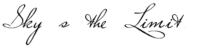 Skys The Limit Tattoo Quote Download Free Scetch