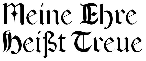 """Képtalálat a következőre: """"Meine Ehre heißt Treue."""""""