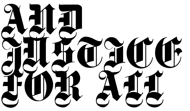 And Justice For All Tattoo Phrase Download Free Scetch