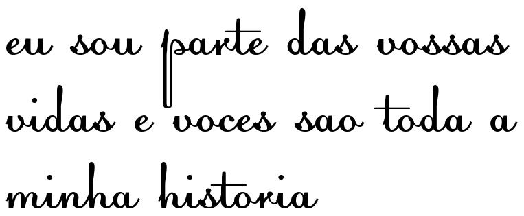 Eu Sou Parte Das Vossas Vidas E Voces Sao Toda A Minha Historia