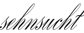 Sehnsucht tattoo