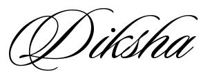 Diksha Tattoo Letter Scetch Download