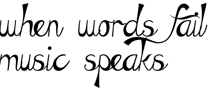 When Words Fail Music Speaks Tattoo Quote Download Free