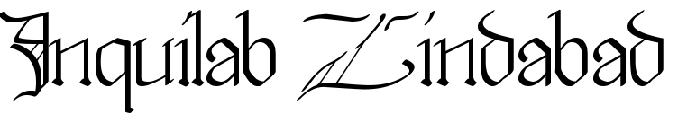 Inquilab Zindabad Famous Tattoo Words Download Free Scetch There are no messages on inquilab zindabad's profile yet. tattoo fonts online
