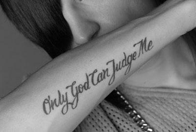 Tattoo font creator